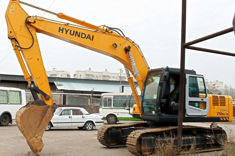 Аренда гусеничного экскаватора Hyundai R210NLC