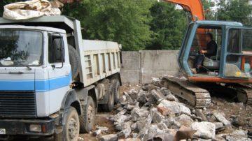 Вывоз строительного мусора в Москве и Московской области